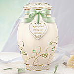 A Year Of Irish Blessings And Inspirations Porcelain Musical Ginger Jar