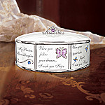 My Precious Granddaughter Collectible Music Box Gift