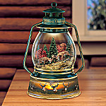 Al Agnew Wilderness Challenge Lantern With Whitetail Deer Art: Wildlife Gift