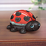 Cute As A Bug Collectible Ladybug Music Box: Unique Granddaughter Gift