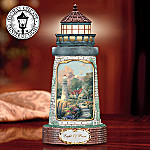 Thomas Kinkade The Light Of Peace Lighthouse Music Box
