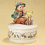 M.I. Hummel(R) Singing Lessons Music Box
