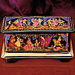 The Nutcracker Russian Ballet Collectible Music Box