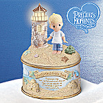 Precious Moments Footprints In The Sand Music Box