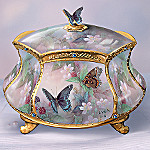 Lena Liu Flights Of Fancy Butterfly Collectible Music Box