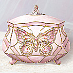 Wings Of Hope Breast Cancer Charity Collectible Music Box