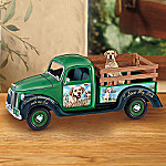 Linda Picken Cruising Through Life With My Yellow Lab Collectible Truck