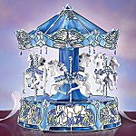 Dream Dancers Tiffany Stained Glass Carousel