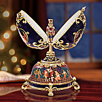 The Russian Nutcracker Collectible Musical Egg