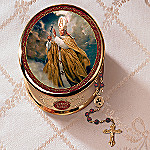 His Holiness Pope John Paul II Music Box