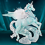 On Wings Of Serenity Unicorn Figurine