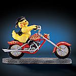 Chicks Rule! Motorcycle Figurine