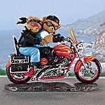 Faithful Fuzzies(R) Burnin' Love Biker Figurine