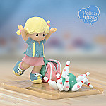 Precious Moments Striking Up A Friendship Collectible Bowling Figurine