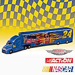 1:64 #24(R) Jeff Gordon NASCAR(R) Diecast Hauler