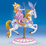 Miss Piggy(TM) Hot To Trot Carousel Horse Figurine