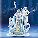 Icy Enchantment Unicorn Figurine