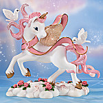Breast Cancer Awareness Unicorn Figurine: Hope And Dreams
