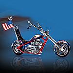 Liberty's Ride Motorcycle Figurine