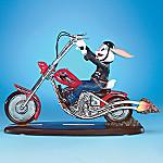 Looney Tunes Collectible Bugs Bunny Figurine Biker Gift: Biker Buddy Bugs