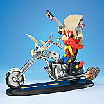 Looney Tunes Collectible Yosemite Sam Figurine Biker Gift: Rootin' Tootin' Rider