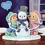 Precious Moments Our Friendship Is Snow Much Fun Figurine