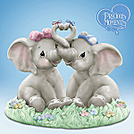 Precious Moments Collectible Elephant Figurine: Our Love Is Too Good To Forget