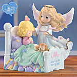 Precious Moments Child And Guardian Angel Figurine Gift: Now I Lay Me Down To Sleep