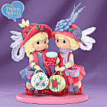 Precious Moments Friends Like You Have Hattitude Figurine
