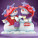 Our Friendship Is Snow Delightful Collectible Snowman Figurine