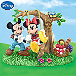 Disney Collectible Mickey & Minnie Mouse Figurine: You Make My Heart Soar