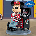 Disney Mickey Mouse Collectible Figurine: Racing Fan-itude