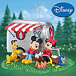 You Make Me Feel Warm And Toasty Mickey And Minnie Mouse Figurine