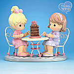 Precious Moments Our Friendship Takes The Cake Collectible Friendship Figurine