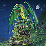 Celtic Protector Collectible Green Dragon Figurine