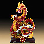 Dragon Of Good Fortune Mythical Chinese Dragon Figurine