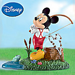 Disney Mickey Mouse Collectible Figurine: Fishing For Trouble