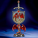 Draco Collectible Red Dragon Medieval Figurine
