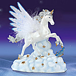 Wings Of Majesty Collectible White Unicorn Figurine
