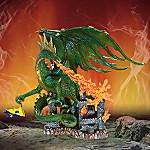 Twilight Terror Collectible Green Dragon Figurine