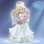 Precious Moments(R) A Healing Heart Of Love Collectible Nurse Angel Figurine