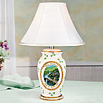 May The Road Rise To Meet You Irish Blessing Ceramic Table Lamp