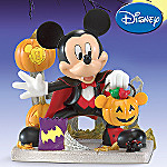 Disney Mickey Mouse Halloween Collectible Figurine: Spooktacular Count Mickey