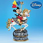 Mickey's Magical Ride Horse Carousel Figurine