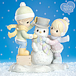 Precious Moments There's Snow Better Friend Than You Snowman And Friends Figurine