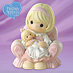 Precious Moments Mother And Daughter Figurine: You Must Be Tickled Pink