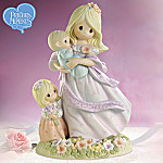 Mother And Child Precious Moments Figurine: Her Children Will Rise Up And Call Her Blessed