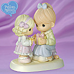 Precious Moments Mother And Daughter Figurine: Moms Are The Greatest Gift Of All