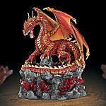 Sentinel Of Fire And Fury Red Dragon Collector Box