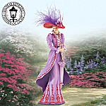 Thomas Kinkade Tea At Three Stylish Woman Figurine